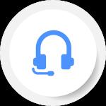 Headphones Microphone support
