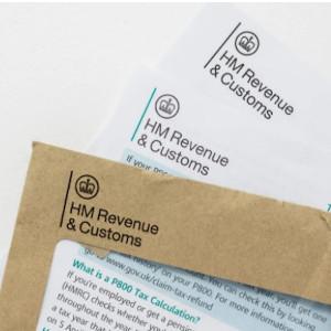 HMRC letter envelope