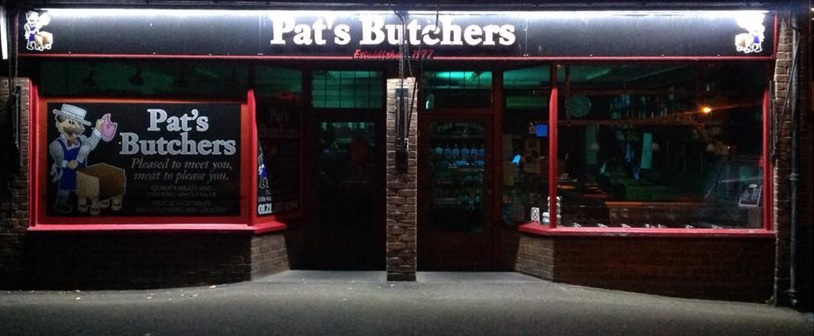 Pats Butchers Little Aston Sutton Coldfield