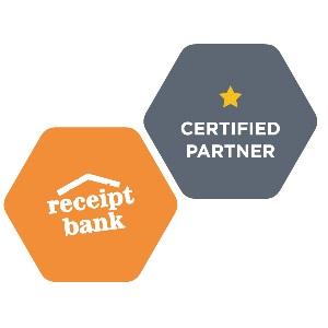 Receipt Bank Certification Badge